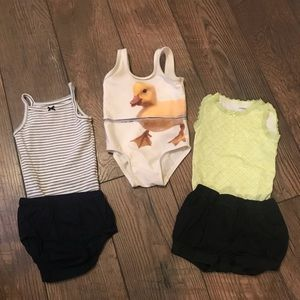 Carter's Onesies, Shorts and Bathing Suit 6 Mo